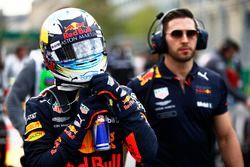 Daniel Ricciardo, Red Bull Racing RB14 Tag Heuer, sur la grille