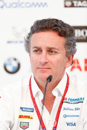 Alejandro Agag, CEO, Formula E, in the press conference