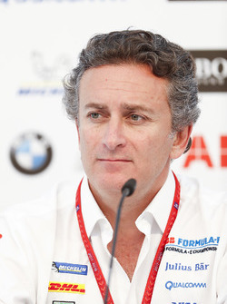 Alejandro Agag, CEO, Formula E, in the press conference