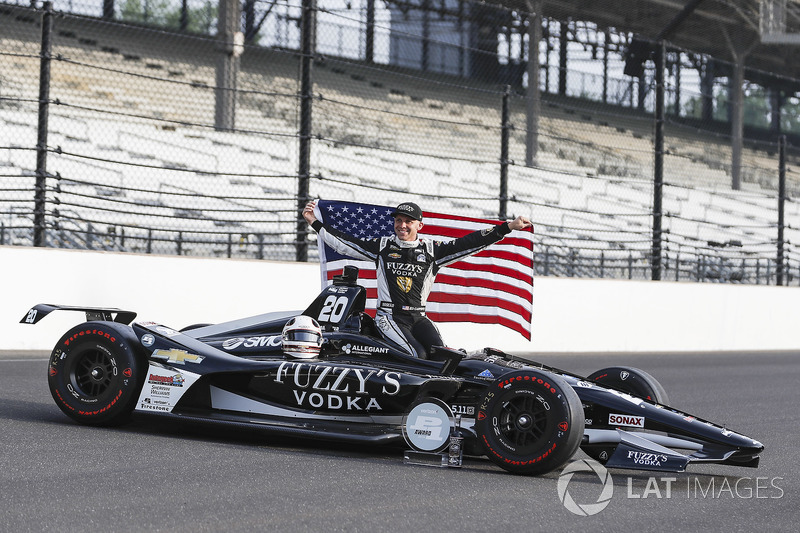 Pole position: Ed Carpenter, Ed Carpenter Racing Chevrolet