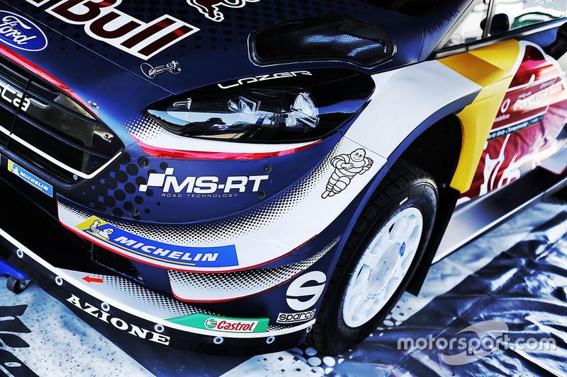 Ford Fiesta WRC, M-Sport Ford, detail