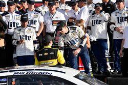 Brad Keselowski, Team Penske Ford Fusion wins the Clash