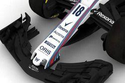 Williams FW41 burun