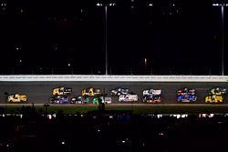 David Gilliland, Kyle Busch Motorsports, Pedigree Toyota Tundra, Brett Moffitt, Hattori Racing Enter