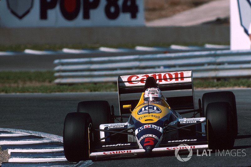 Nigel Mansell, Williams-Judd FW12, 1988