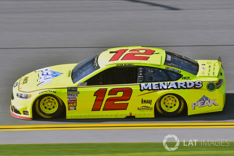 7. Ryan Blaney, Team Penske, Ford