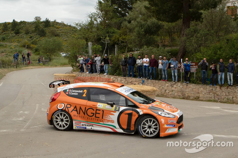 Simone Campedelli,Tania Canton, Ford Fiesta R5, Orange1 Racing