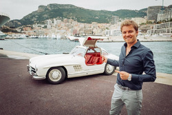 Nico Rosberg, Mercedes-Benz AmbassadorM 1955 Mercedes 300 SL Gullwing