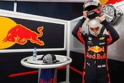 Max Verstappen, Red Bull Racing prepares to drive