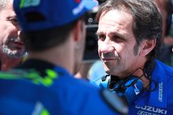 Руководитель команды Team Suzuki MotoGP Давиде Бривио