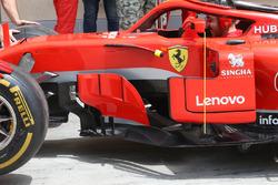 Espejo del Ferrari SF71H