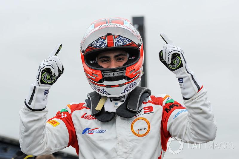 Kush Maini (British F3, Brands Hatch)