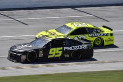 Kasey Kahne, Leavine Family Racing, Chevrolet Camaro Procore Safety Certified and Ryan Blaney, Team Penske, Ford Fusion Menards/Richmond