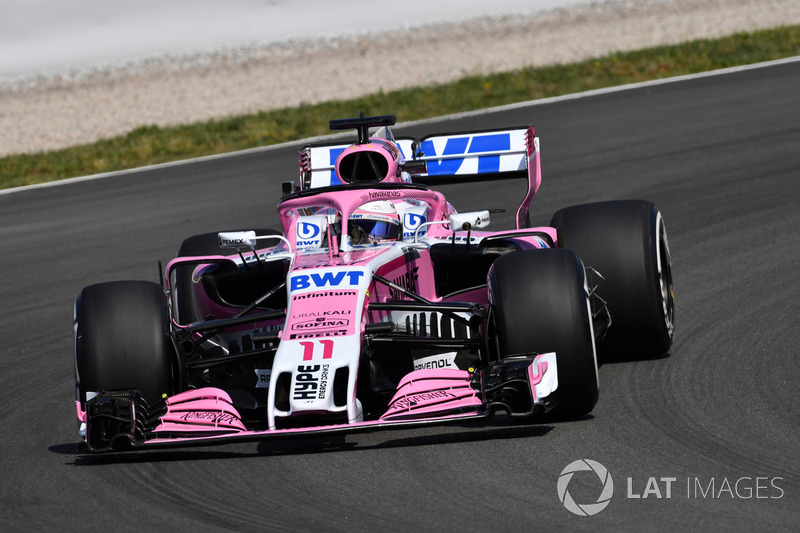 10. Sergio Perez, Force India VJM11
