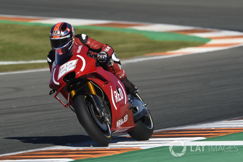Sam Lowes au GP de Valence 2017