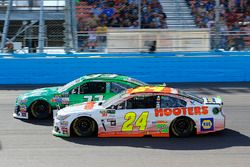 Chase Elliott, Hendrick Motorsports Chevrolet and Jeffrey Earnhardt, Circle Sport – The Motorsports