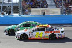 Chase Elliott, Hendrick Motorsports Chevrolet and Jeffrey Earnhardt, Circle Sport – The Motorsports