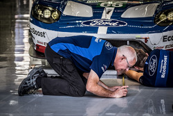Ford Chip Ganassi Team UK mechanic at work