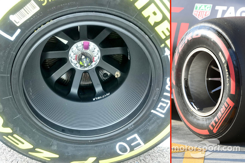 Force India wheel rim details