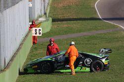 #55 Dörr Motorsport: Jacobus Bartles, crash