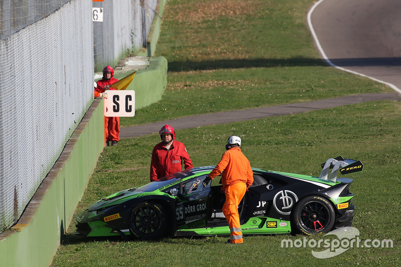 #55 Dörr Motorsport: Jacobus Bartles, incidente