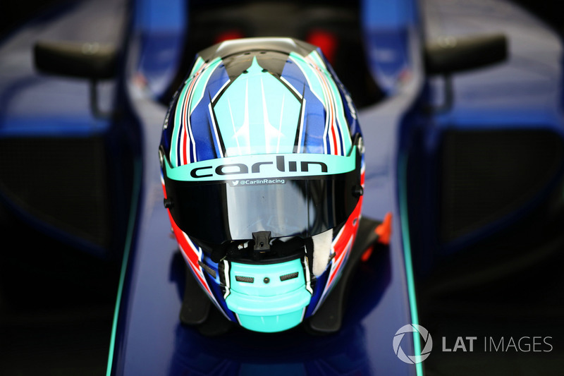 Helm van Billy Monger, Carlin