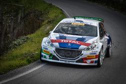 Paolo Andreucci, Anna Andreussi, Peugeot 208 T16 R5, Peugeot Sport Italia