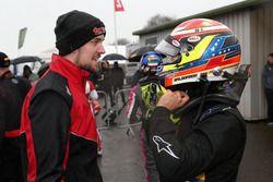 Ganador de la carrera Manuel Maldonado, Fortec Motorsports