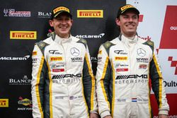 Podium: third place #116 ERC Sport Mercedes-AMG GT3: Lee Mowle, Yelmer Buurman