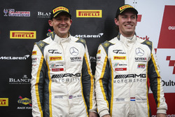 Podium: third place #116 ERC Sport Mercedes-AMG GT3: Lee Mowle, Yelmer Buurman