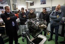 PSA fábrica, taller de motores
