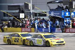Ryan Blaney, Team Penske, Ford Fusion Menards / Pennzoil, Joey Logano, Team Penske, Ford Fusion Pennzoil