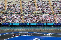 Nick Heidfeld, Mahindra Racing, Alex Lynn, DS Virgin Racing e Jose Maria Lopez, Dragon Racing