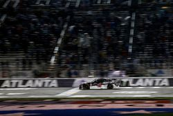 Kevin Harvick, Stewart-Haas Racing, Jimmy John's Ford Fusion takes the checkered flag