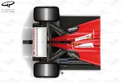 Ferrari F2012 e F150, viste dall'alto a confronto