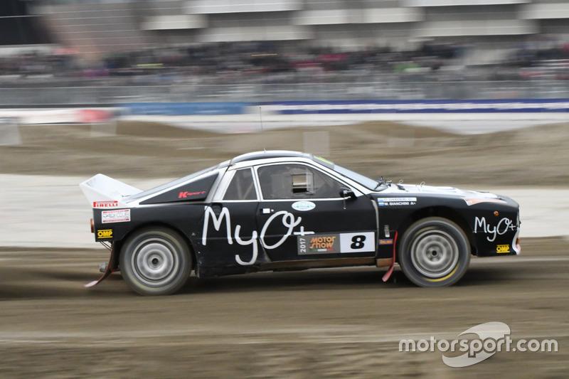 Marco Bianchini, Lancia Rally 037