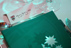 Mary Berry CBE table setting