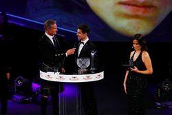 Lando Norris parle à David Coulthard