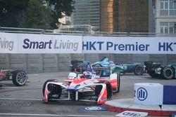 Felix Rosenqvist, Mahindra Racing, Luca Filippi, NIO Formula E Team, incidente