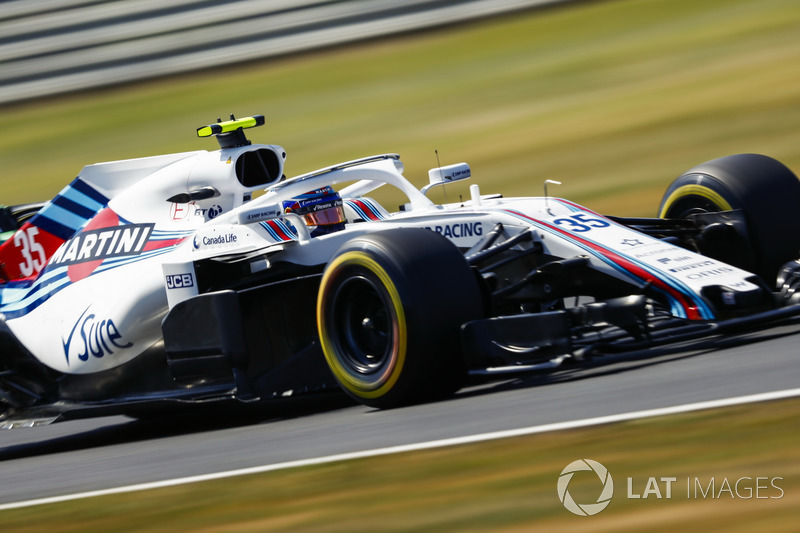 Start aus der Boxengasse: Sergei Sirotkin, Williams FW41*