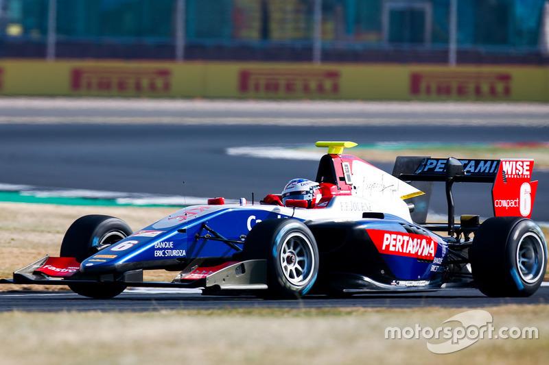 L'avantage allait à Giuliano Alesi en essais libres