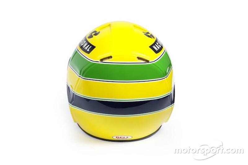 Capacete de 1994 de Senna, da época da Williams