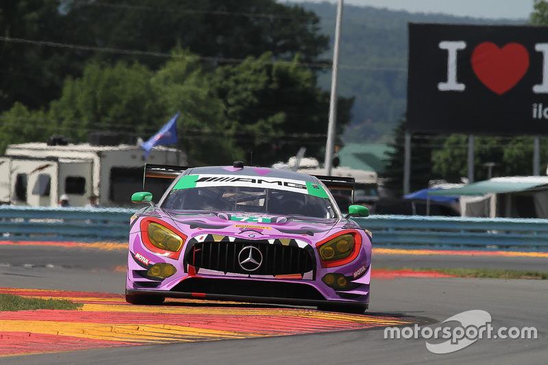 #71 P1 Motorsports Mercedes-AMG GT3, GTD: Juan Perez, Loris Spinelli, Adam Christodoulou
