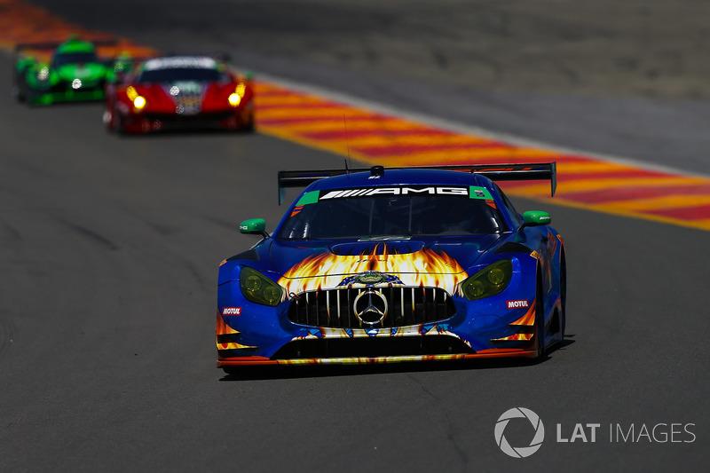 #75 SunEnergy1 Racing Mercedes AMG GT3, GTD: Kenny Habul, Thomas Jaeger, Mikael Grenier
