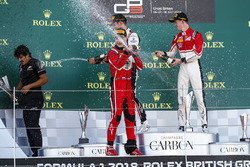 Anthoine Hubert, ART Grand Prix Nikita Mazepin, ART Grand Prix et Callum Ilott, ART Grand Prix
