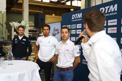 Marco Wittmann, BMW Team RMG, Daniel Juncadella, Mercedes-AMG Team HWA, Robin Frijns, Audi Sport Team Abt Sportsline