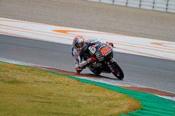 Fabio Di Giannantonio (Honda), Test Moto2 y Moto3 Valencia