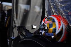 Il casco di James Hinchcliffe, Schmidt Peterson Motorsports Honda