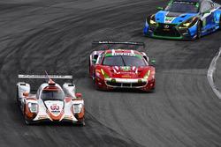#54 CORE autosport ORECA LMP2, P: Jon Bennett, Colin Braun, Romain Dumas, Loic Duval, #51 Spirit of Race Ferrari 488 GT3, GTD: Paul Dalla Lana, Pedro Lamy, Mathias Lauda, Daniel Serra