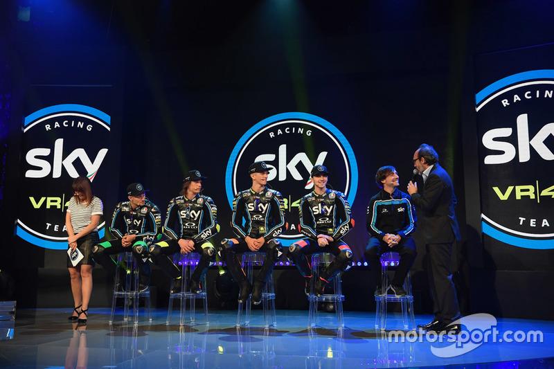 Peluncuran skuat Sky Racing Team VR46 musim 2018